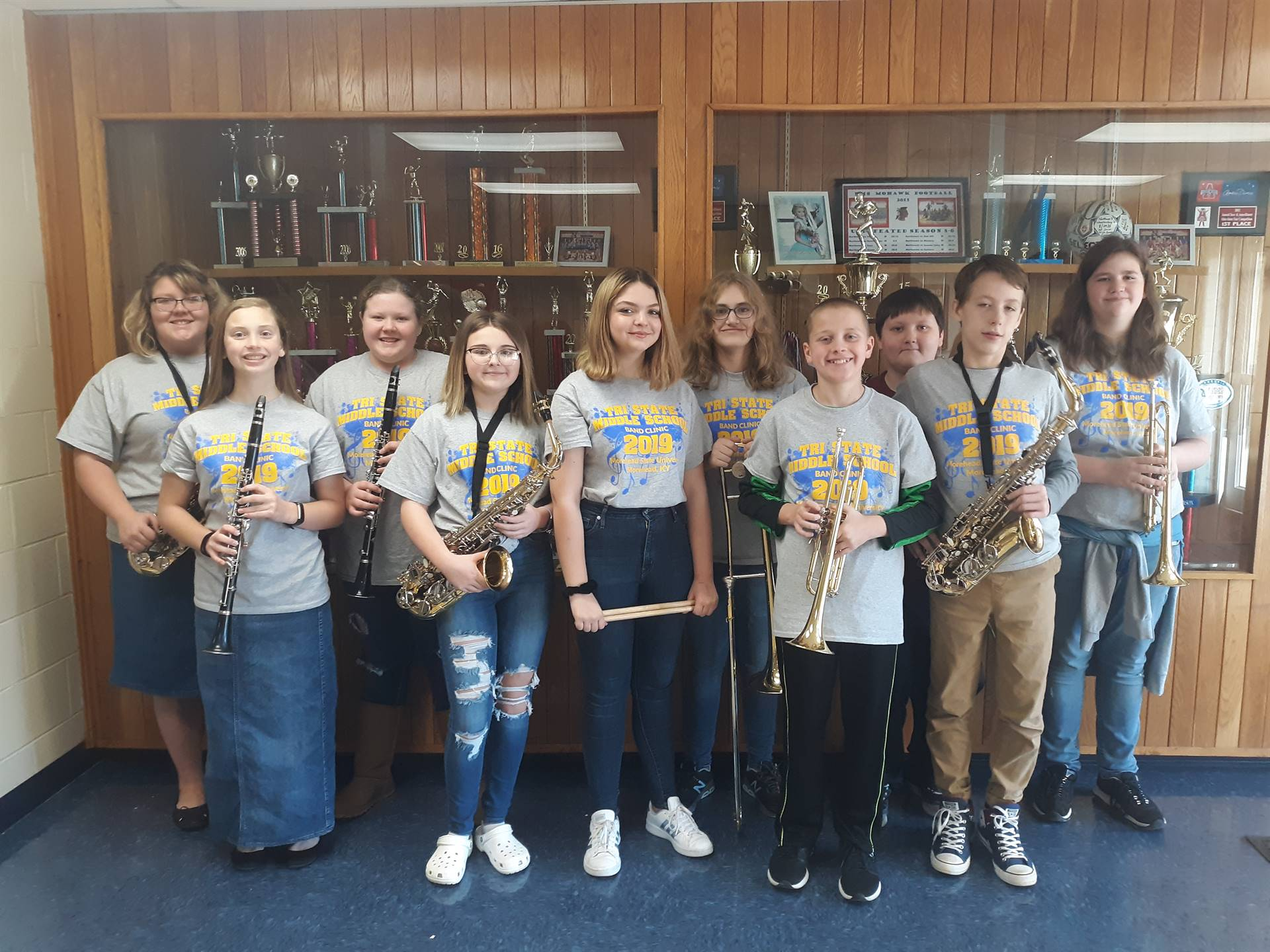 Morehead State University Tri-State Middle School Honor Band
