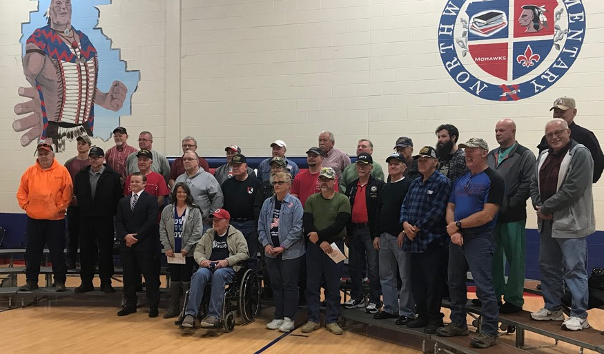 Veterans Day Group Photo