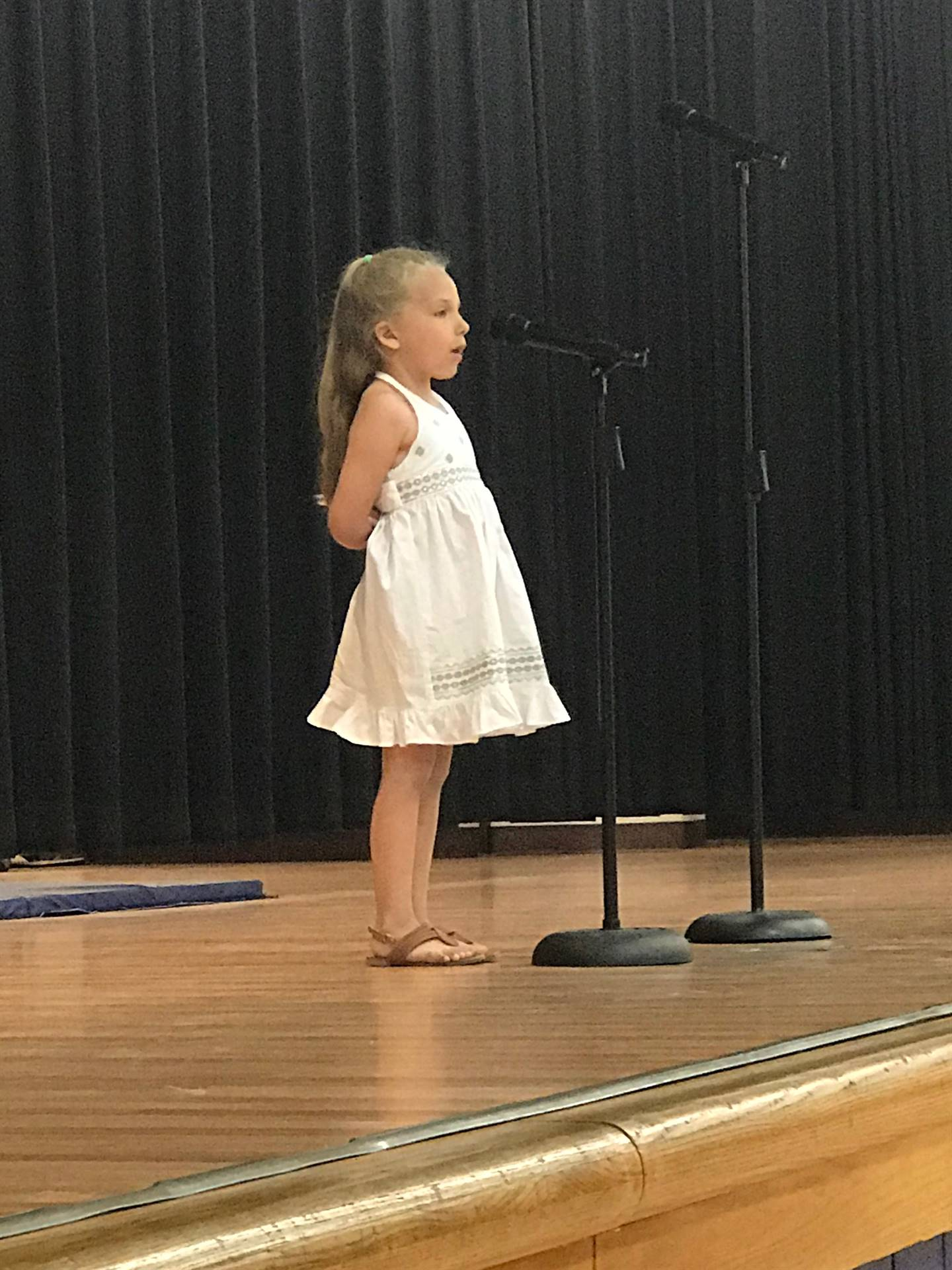 Peyton Lunsford - Kindergarten Performance