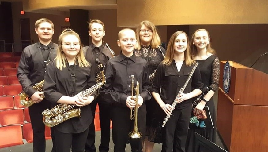 NMS Participants at The Scioto County Honors Music Festival